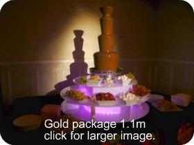 chocolate fountain cost