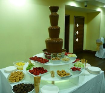 large chocolate fountain manchester area