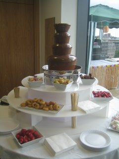 chocolate fountains